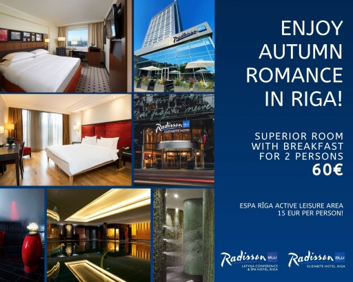 Autumn special offers by Radisson Blu Hotels