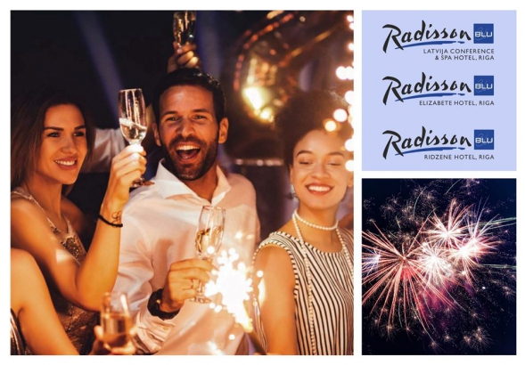 Christmas and New Year celebrations at Radisson Blu Hotels in Riga