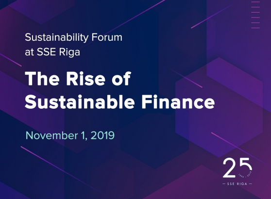 Sustainability Forum – The Rise of Sustainable Finance