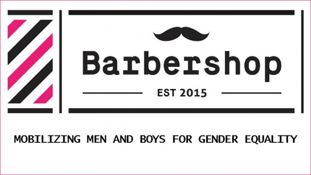 Barbershop conference on men's role in promoting gender equality in modern society