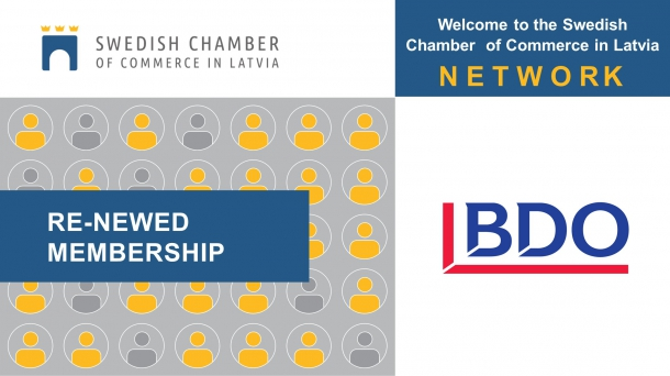 Chamber welcomes BDO Latvia to the SCCL Membership!